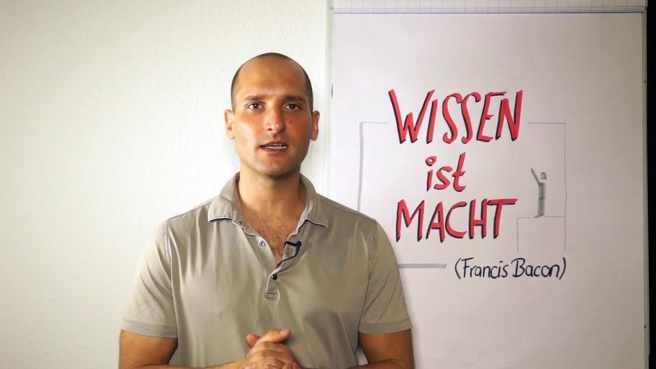 """Read more about the article """"Wissen ist Macht"""" und Macht bedeutet Können"""